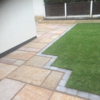 A Garden Paving Installation