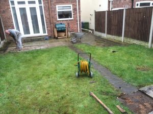 maintenance free garden job before