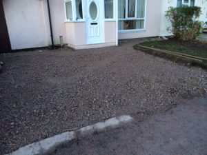 west derby driveway job before