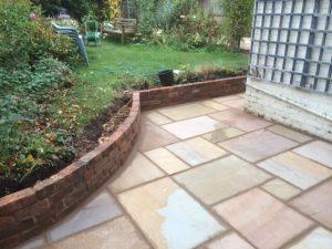 new patio work