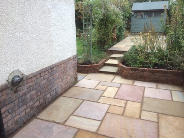 Garden Walls Liverpool J L Landscapes, Patio Retaining Wall Ideas Uk
