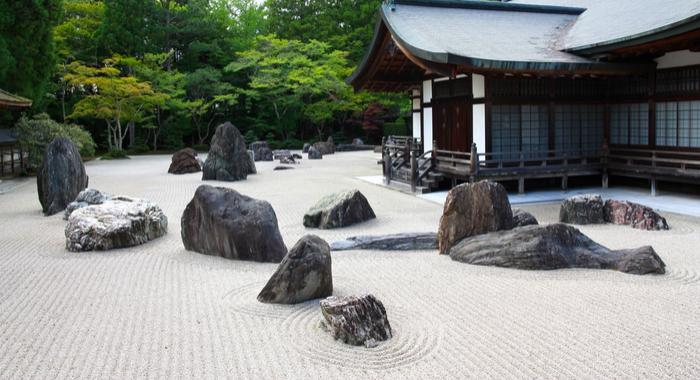 zen garden sand